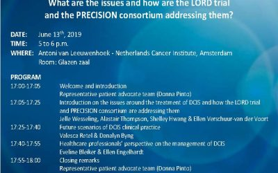 DCIS Dilemmas – clinician and patient advocate interactive session 13th June, NKI, Amsterdam